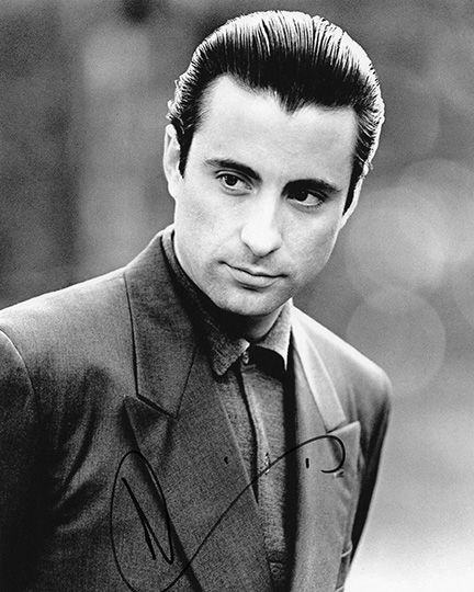 Andy Garcia, The Godfather, signed 10x8 inch photo.