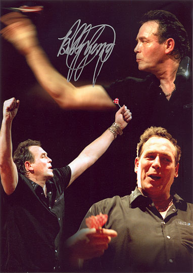 Bobby George, signed 12x8 inch photo.