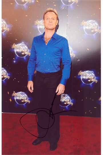 Jason Donovan, Strictly Come Dancing, signed 12x8 inch photo.