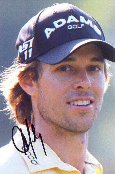 Aaron Baddeley, signed 6x4 inch photo.