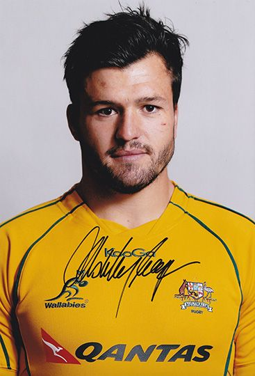 Adam Ashley-Cooper, Australia, signed 12x8 inch photo.