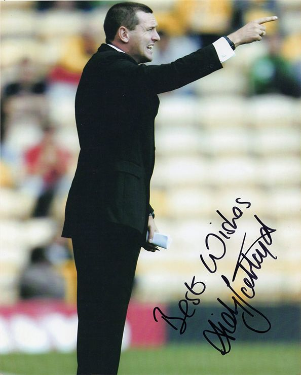 Aidy Boothroyd, Watford, signed 10x8 inch photo.