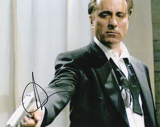 Andy Garcia, signed 10x8 inch photo.(2)