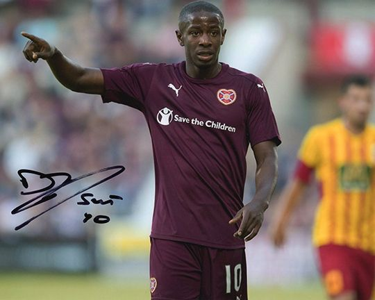 Arnaud Djoum, Hearts, signed 10x8 inch photo.