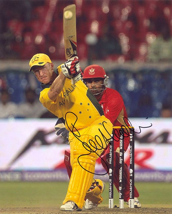 Brad Haddin, Australia, signed 10x8 inch photo.