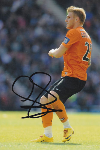 David Goodwillie, Dundee Utd, signed 6x4 inch photo.