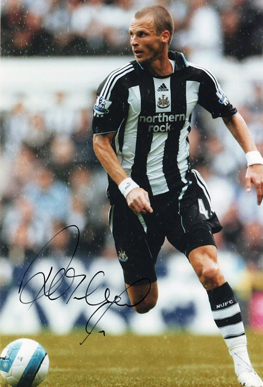 David Rozehnal, Newcastle Utd, Czech Republic, signed 12x8 inch photo.