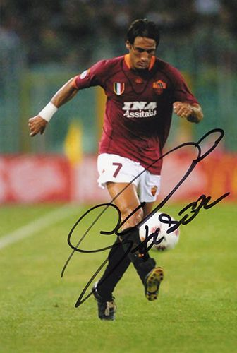 Diego Fuser, Roma & Italy, signed 6x4 inch photo.