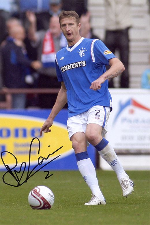 Dorin Goian, Rangers & Romania, signed 12x8 inch photo.