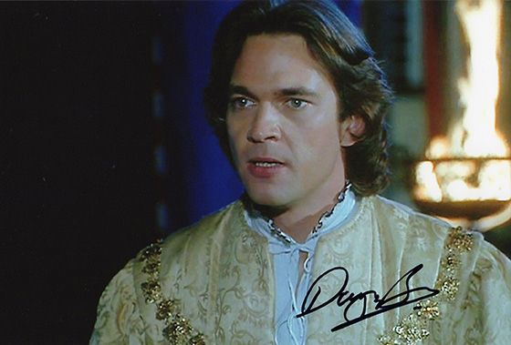 Dougray Scott, signed 12x8 inch photo.