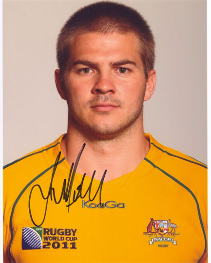 Drew Mitchell, Australia, signed 10x8 inch photo.