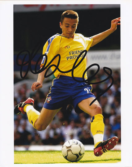 Fabrice Fernandes, Southampton, signed 10x8 inch photo.(2)