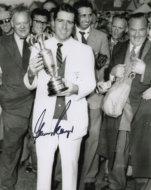 Gary Player, Open Champion 1959 Muirfield, signed 10x8 inch photo.