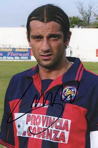 Gianluigi Lentini, Cosenza Calcio & Italy, signed 6x4 inch photo.