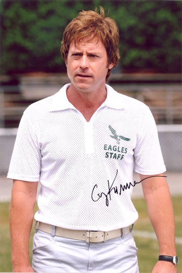 Greg Kinnear, signed 12x8 inch photo.