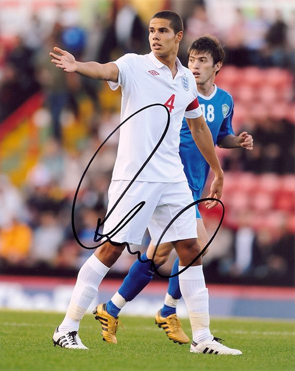 Jack Rodwell, England, signed 10x8 inch photo.