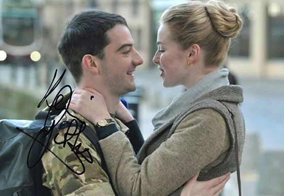 Kevin Guthrie, Sunshine on Leith, signed 12x8 inch photo.(2)