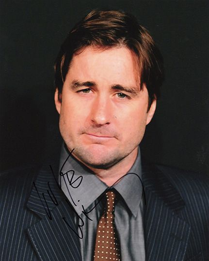 Luke Wilson, signed 10x8 inch photo.