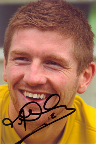 Mark Wilson, Dundee Utd, signed 6x4 inch photo.