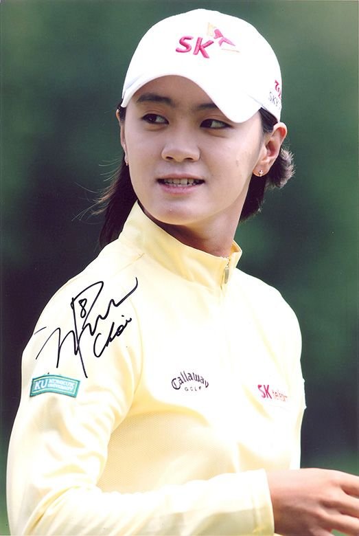 Na Yeon Choi, signed 12x8 inch photo.