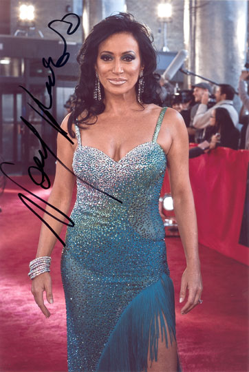 Nancy Dell'Olio, Strictly Come Dancing, signed 12x8 inch photo.