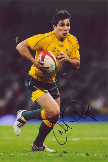 Nick Phipps, Australia, signed 12x8 inch photo.