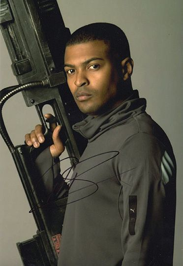 Noel Clarke, Doctor Who, signed 12x8 inch photo.