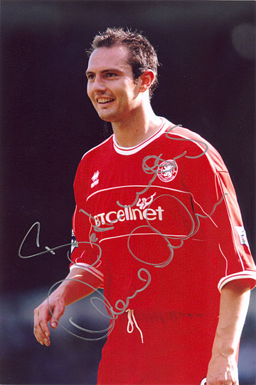 Noel Whelan, Middlesbrough, signed 12x8 inch photo.