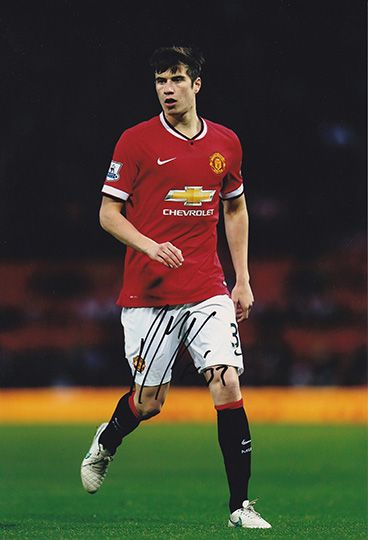 Paddy McNair, Manchester Utd, signed 12x8 inch photo.