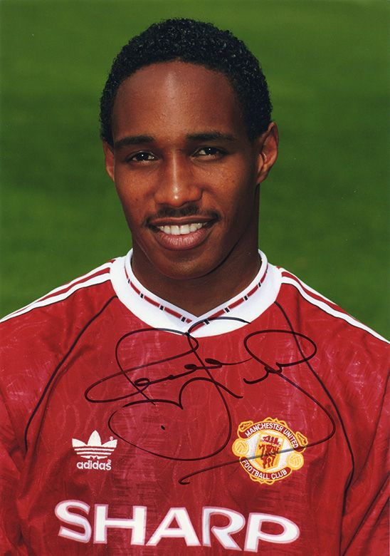 Paul Ince, Manchester Utd & England, signed 11.75x8.25 inch photo.