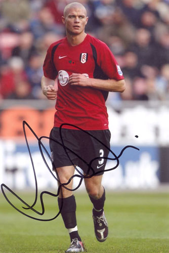 Paul Konchesky, Fulham, signed 6x4 inch photo.