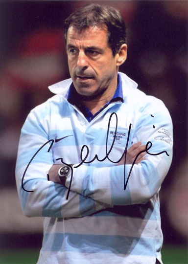 Pierre Berbizier, Racing Metro, signed 7x5 inch photo.