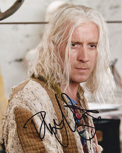 Rhys Ifans, Harry Potter film, signed 10x8 inch photo.