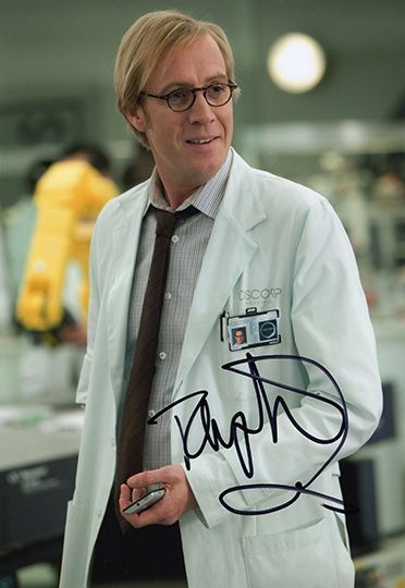 Rhys Ifans, Spider-Man, signed 12x8 inch photo.