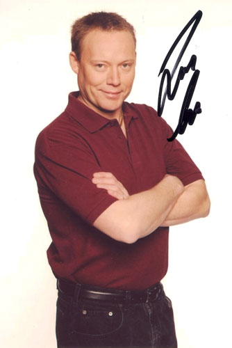 Ricky Groves, Eastenders, signed 6x4 inch photo.