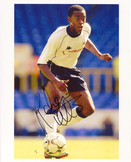 Rohan Ricketts, Tottenham Hotspur, signed 10x8 inch photo.