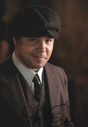 Stephen Graham, Boardwalk Empire, signed 12x8 inch photo.