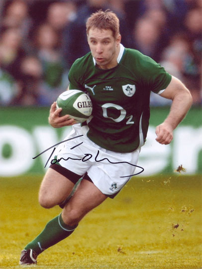 Tomas O' Leary, Ireland, signed 10x8 inch photo.